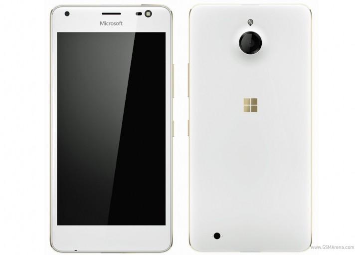 Lumia 850 Gold
