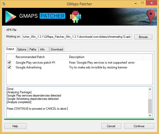 gmaps-patcher-analyzing-option