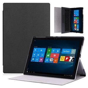 MoKo Microsoft Surface Pro 4 Case - Ultra Slim Lightweight Smart-shell Stand Cover Case