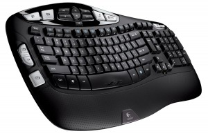 Logitech K350 2.4 Ghz Wireless Keyboard